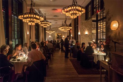 Iluminação para Restaurante