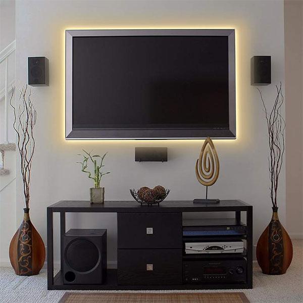 Onde usar Fita de LED? Descubra como aplicá-la na decoração com ótimo efeito!