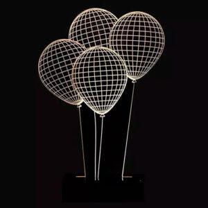 Abajur - Balões