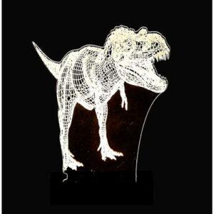 Abajur - T-rex
