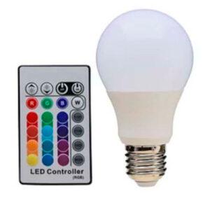 Lâmpada Bulbo LED RGB A60