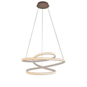 Lustre Flat com LED 38W