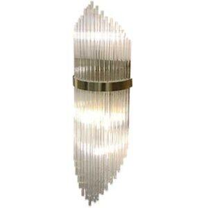 Arandela Metal Cristal