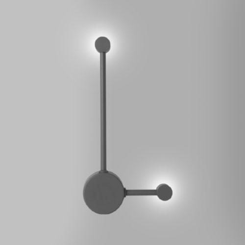Arandela Moderna 2 Pontos de Luz LED INTEGRADO - Direita