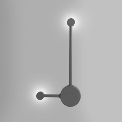Arandela Moderna 2 Pontos de Luz LED INTEGRADO - Esquerda