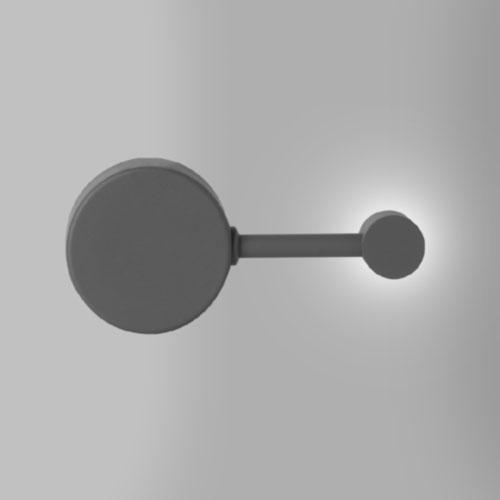 Arandela Moderna Pequeno 1 Ponto de Luz LED INTEGRADO