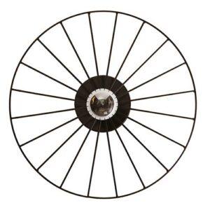 Luminária de Parede Arandela Roda de Bicicleta