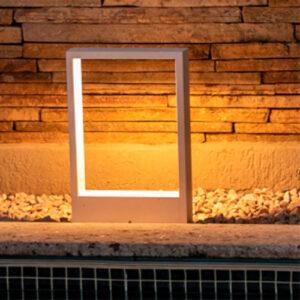 Balizador de Chão Perfil Arco - LED INTEGRADO