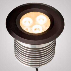 Balizador Embutido de Solo LED - 9w - IP66