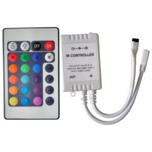 Controle Remoto para Fita de LED RGB