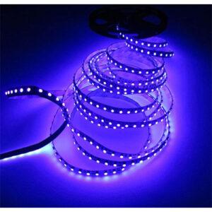 Fita de LED Ultravioleta - UV Luz Negra - SMD 5050 - 5 Metros