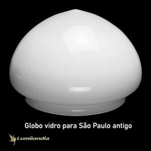 Globo de Vidro Bacia São Paulo Antigo