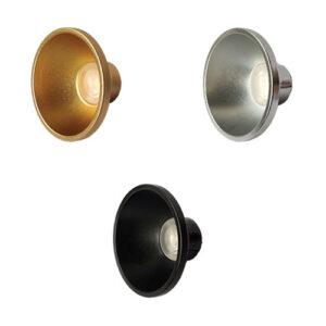 Lâmpada AR111 LED - Dourada / Prata / Preta