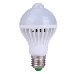 Lâmpada Bulbo LED com Sensor de Presença