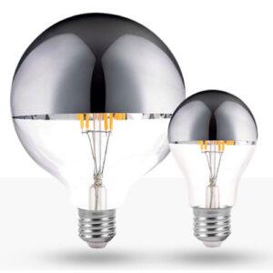 Filamento LED Defletora Cromada