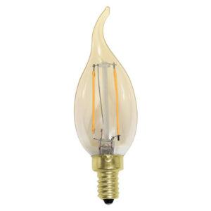 Vela chama Filamento LED