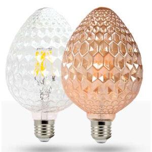 Lâmpada Filamento LED Pinha