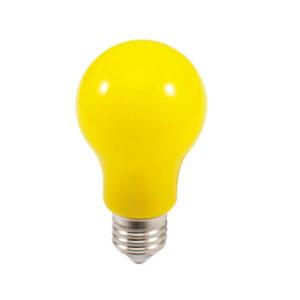 Lâmpada LED Amarela Repelente A60