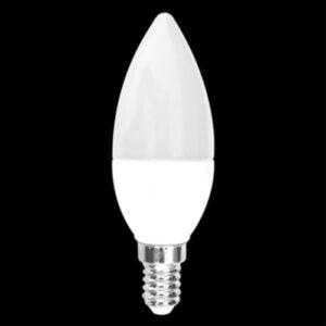 Lâmpada LED Vela Fosca Dimerizavel 4.3W