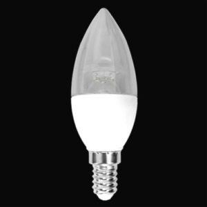Lâmpada LED Vela Dimerizavel 4.3W