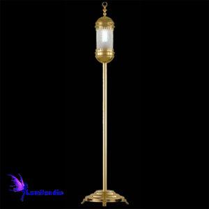Luminária de Chão Coluna Oriental Árabe para 1 Lâmpada