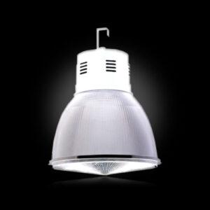 Luminária com Gancho Industrial Acrílico Prismático - Com Alojamento