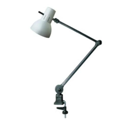 Luminária de Mesa Articulada com Garra - Haste Longa