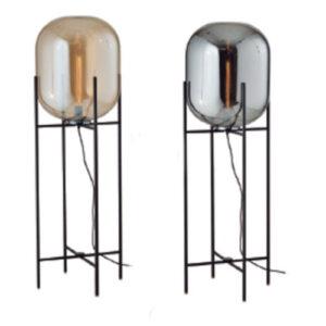 Luminária de Chão de Vidro Cilinder