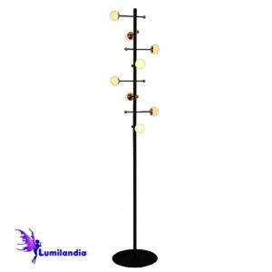 Luminária de Chão Coluna Moderna Cadiz - LED Integrado