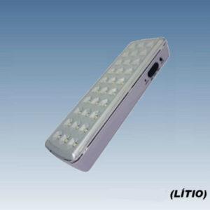 Luminária de Emergência LED - Bateria de Lítio
