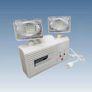 Luminária Autônoma Luz de Emergência 2 Projetores LED - 960 Lúmens