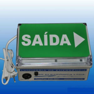 Luminária de Emergência LED - Saída - Autônoma