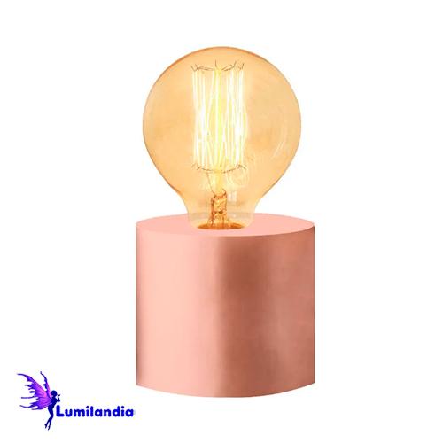 Luminária de Mesa Abajur Bumbilha Baixo