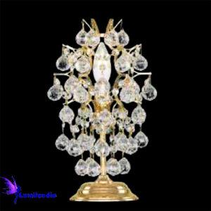 Luminária de Mesa Abajur Candeeiro com Cristal Asfour