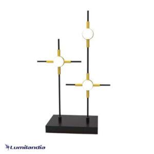Luminária de Mesa Abajur Moderna Rasquera - LED Integrado