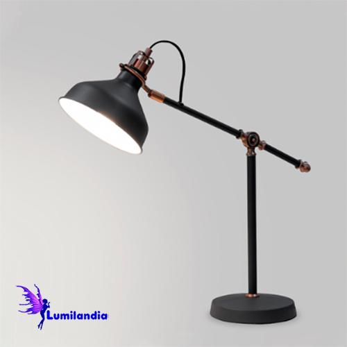 Luminária de Mesa Articulada Moderna Tuli