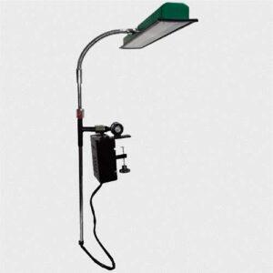 Luminária Industrial Flexível com Fixação de Morsa