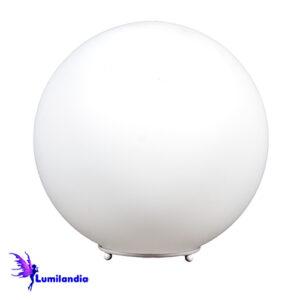Luminária de Mesa Globo Branco Opalino - 5 Tamanhos