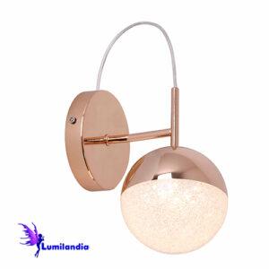 Luminária de Parede Arandela Moderna Bola Lhuna - LED Integrado