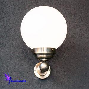 Luminária de Parede Arandela Clássica Globo Vintage