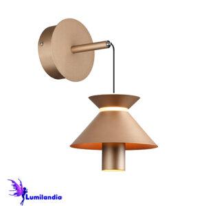 Luminária de Parede Arandela Moderna Huesca Tubo