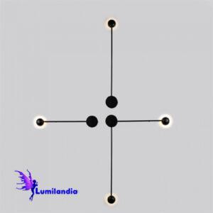 Luminária de Parede Arandela LED Moderna Saden