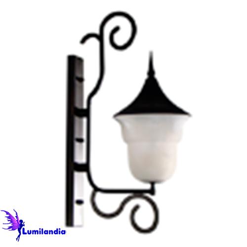 Luminária de Parede Arandela Externa Alabastro Modelo 2