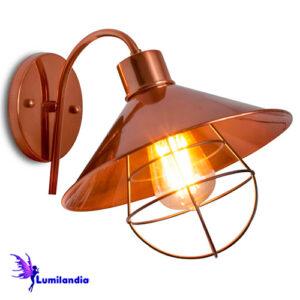 Luminária de Parede Arandela Industrial Gabia