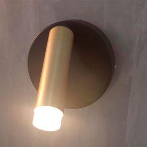 Luminária de Parede Arandela Moderna Circular Spot Direcional