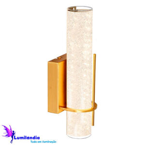 Luminária de Parede Arandela Interna Lorena - LED Integrado