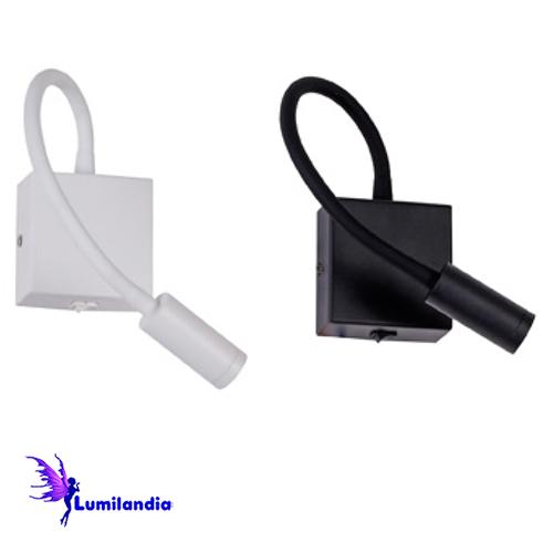 Luminária de Parede Arandela Flexível Pix para Cabeceira de Cama