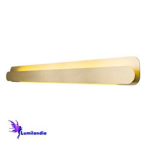 Luminária de Parede Arandela Moderna Barra Linear Segarra - 130cm