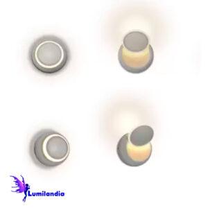 Luminária de Parede Arandela Mondo Eclipse - LED Integrado