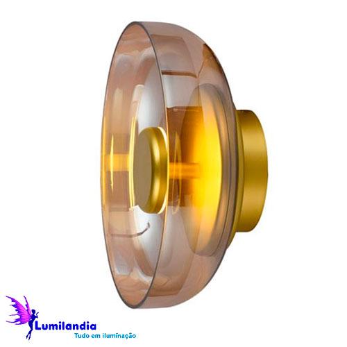 Luminária de Sobrepor Arandela ou Plafon Disko - LED Integrado
